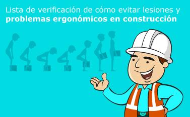 Lista de Verificacion de Problemas Ergonomicos en Construccion