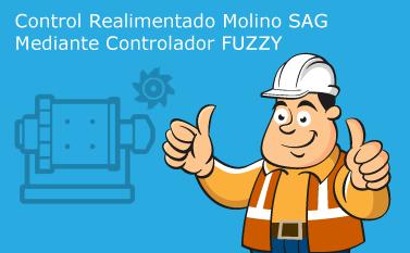 Control Molino SAG Mediante Controlador FUZZY
