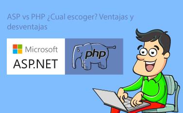 ASP vs PHP ¿Cuál escoger? Ventajas y Desventajas