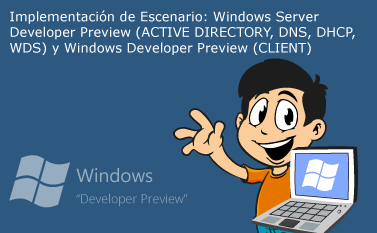 Implementacion Windows Server Developer Preview