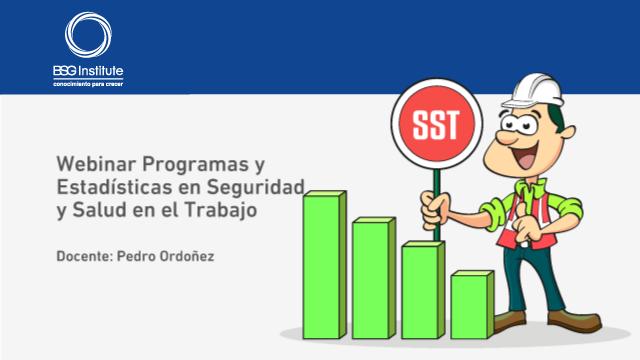 Webinar Programas y Estadísticas en SST