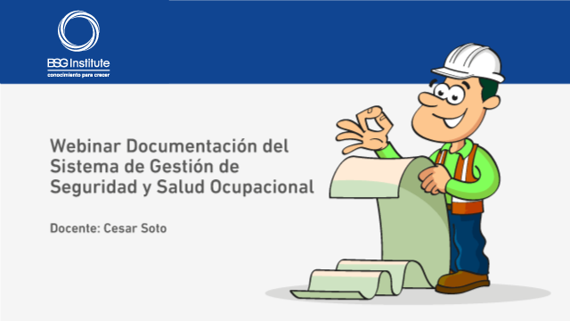 Webinar Documentación del Sistema de Gestión de SST