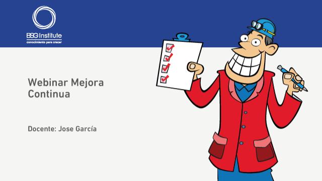 Webinar Mejora Continua con Six Sigma