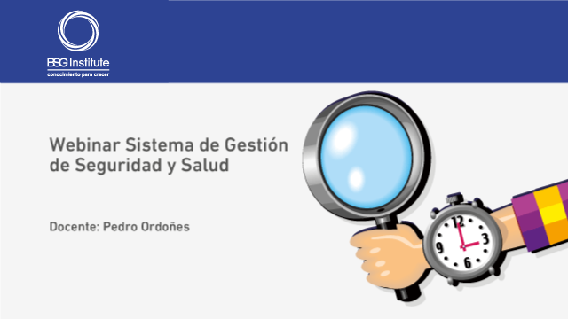 Webinar Sistema de Gestión de Seguridad y Salud