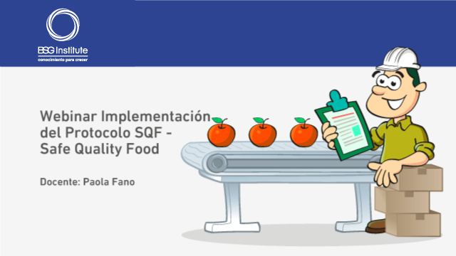 Implementación del Protocolo SQF - Safe Quality Food