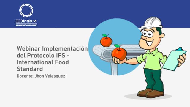 Webinar Implementación del Protocolo IFS