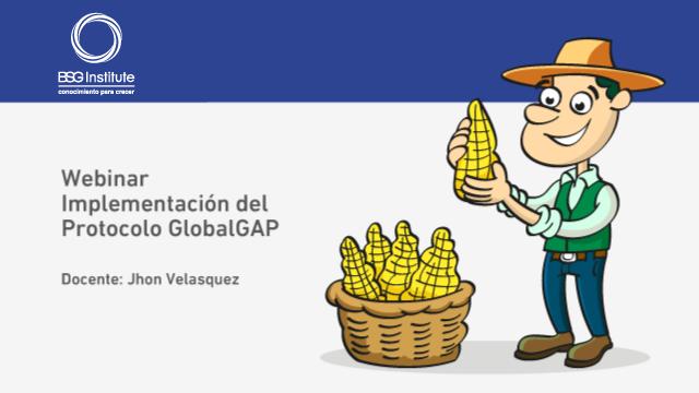 Webinar Implementación del Protocolo GlobalGAP