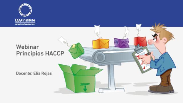 Webinar Principios HACCP