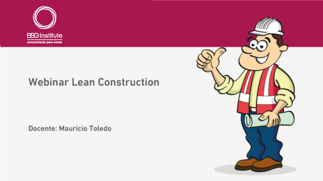 Webinar Lean Construction