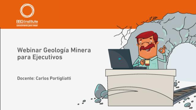 Webinar Geología Minera para Ejecutivos