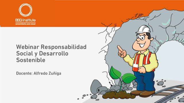 Webinar Responsabilidad Social y Desarrollo Sostenible