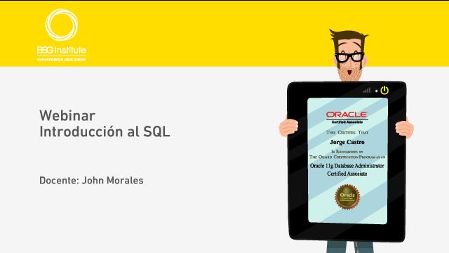 Webinar Introducción al SQL