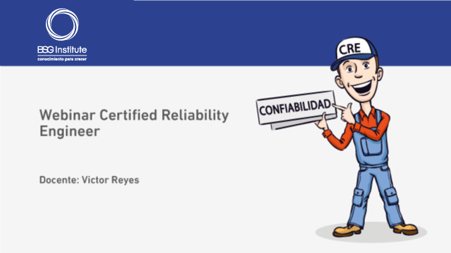 Webinar Certified Reliability Engineer