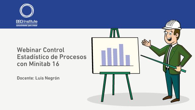 Webinar Control Estadístico de Procesos con Minitab 16