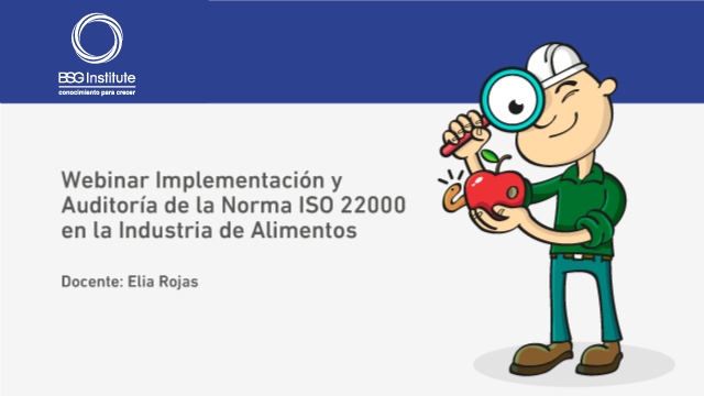 Implementación y Auditoría de la Norma ISO 22000 en la Industria de Alimentos