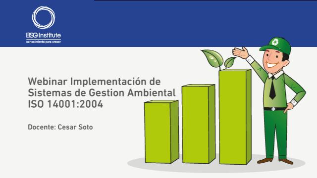 Webinar Implementación de ISO 14001