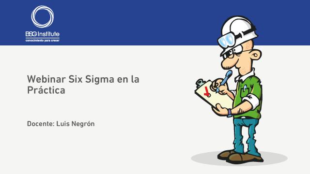 Webinar Six Sigma en la Práctica