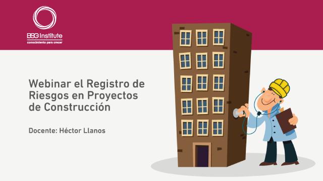Webinar Registro de Riesgos en Construcción