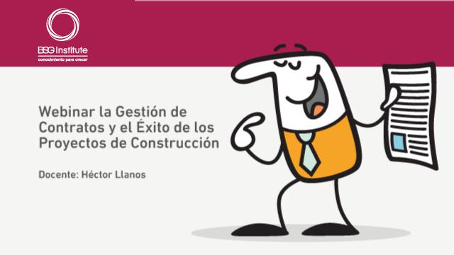 Webinar Gestión de Contratos en Construcción