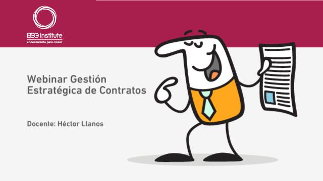 Webinar Gestión de Contratos