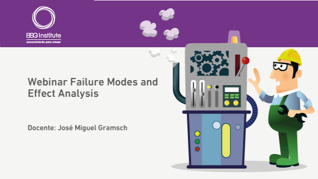 Webinar Failure Modes and Effect Analysis