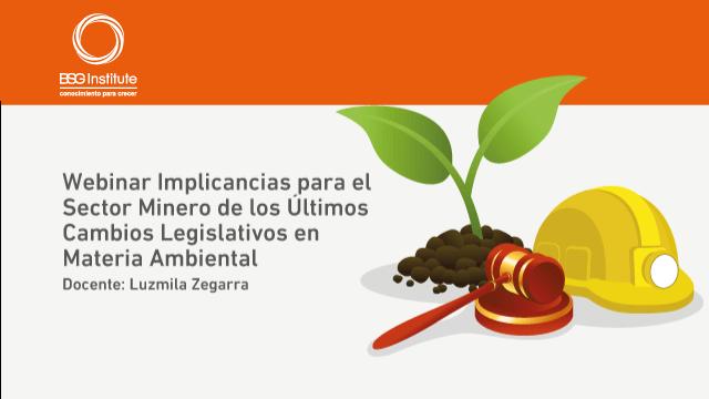 Webinar Sector Minero y Normas Ambientales
