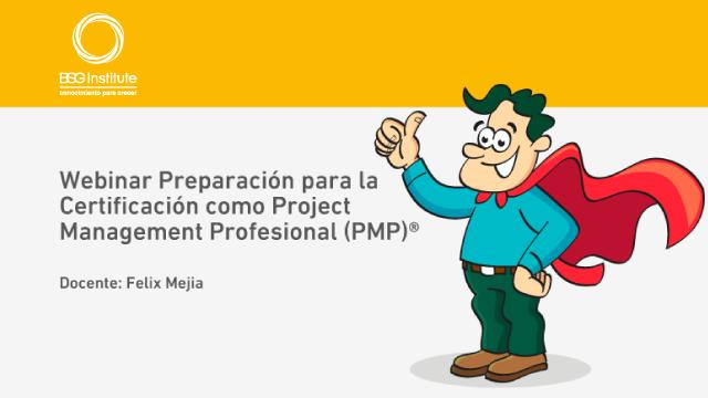 Webinar Preparación para Certificación PMP®