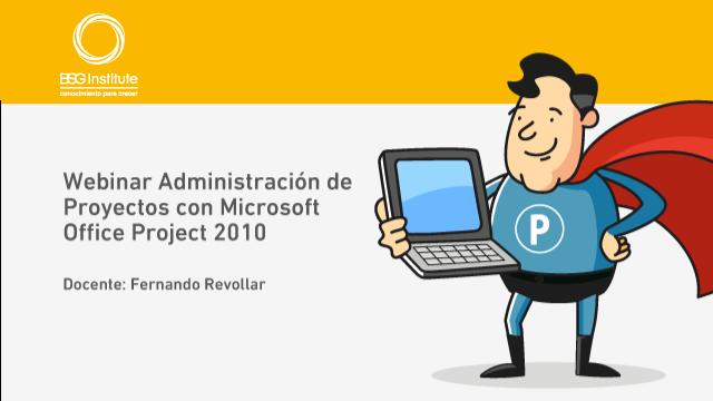 Webinar Gestión de Proyectos con MS Project