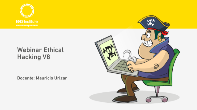 Webinar Ethical Hacking V8