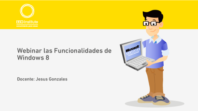 Webinar las Funcionalidades de Windows 8